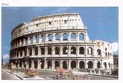 Postal Antigua De Roma Italia Coliseo Roman Kaufen Alte