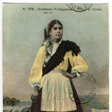 Postales: COIMBRA, PORTUGAL, COSTUMES PORTUGUEZES, TRICANA DE COIMBRA, P27805. Lote 13481390