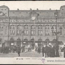 Postales: PARIS.- GARE SAINT-LAZARE. (75).- FRANCIA. Lote 13481409