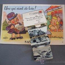 Postales: POSTAL DE SAVERNE ET HAUT-BARR CON ACORDEON DE 10 MINI-IMAGENES (BOZZ Nº21, ESCRITA, SIN CIRCULAR). Lote 22075168