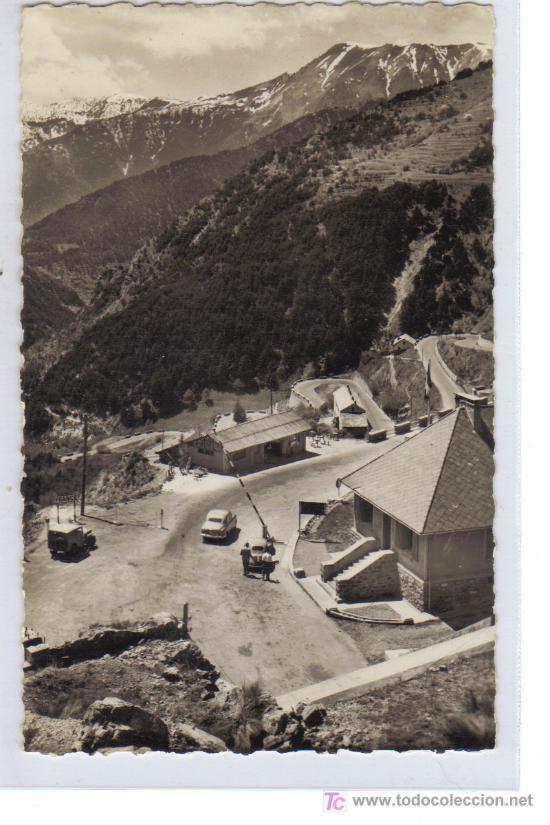 B 68 - COL DE TENDE (A.M.) - ALT. 1300 M. - FRONTERA FRANCO - ITALIANA. (Postales - Postales Extranjero - Europa)