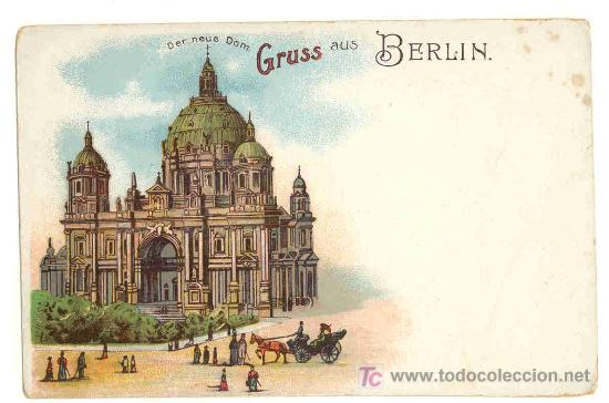 GRUSS AUS BERLIN - TARJETA POSTAL BERLIN (Postales - Postales Extranjero - Europa)
