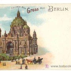 Postales: GRUSS AUS BERLIN - TARJETA POSTAL BERLIN. Lote 14080328