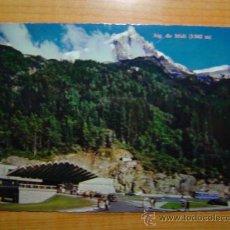 Postales: POSTAL CHAMONIX MONT BLANC TUNNEL DU MONT BLANC SIN CIRCULAR. Lote 14342184