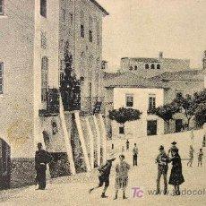 Postales: HERMOSA Y ANTIGUA POSTAL, ELVAS, PORTUGAL, RUA DA CADEIA, CALLE CADEIA.. Lote 14396734