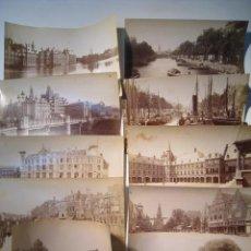 Postales: HOLANDA (HOLLANDE - NEDERLAND) - LOTE 10 FOTOGRAFIAS. Lote 14434327