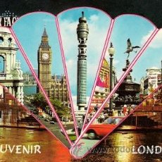 Postales: LONDON - BIG BEN - POST OFFICE TOWER - PICCADILLY CIRCUS. Lote 14555100