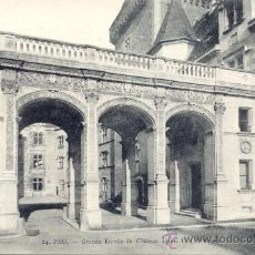 Postales: *POST 19 - POSTAL NO CIRCULADA : PAU - GRANDE ENTRÉE DU CHÂTEAU HENRI IV (PORTIQUE) 24. Lote 14963324