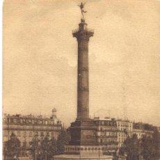 Postales: *POST 23 - POSTAL CIRCULADA: PARÍS - LA PLACE DE LA BASTILLE - LL 175 (CON PERSONAJES). Lote 24241862