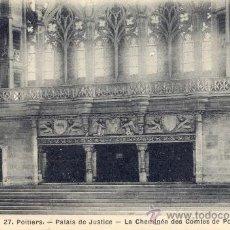 Postales: POST 27 -POSTAL NO CIRCULADA: POITIERS - PALAIS DE JUSTICE - 27 - LA CHEMINÉE DES COMTES DE POITIERS. Lote 14964562
