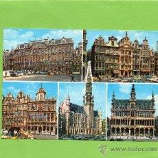 Postales: BRUSELAS. BRUXELLES. BRUSSEL. BRUSSELS. BELGICA. VISTA GENERAL. SIN CIRCULAR.. Lote 104922727