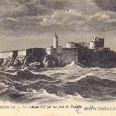 Postales: POST 43 - POSTAL NO CIRCULADA - 195 - MARSEILLE - LE CHÂTEAU D´IF PAR UN JOUR DE TEMPÉTE - LL. Lote 15006434