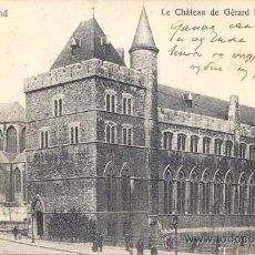 Postales: POST 363 - POSTAL SELLOS BÉLGICA - GAND : LE CHÁTEAU DE GERARD LE DIABLE - 1914 - 14589 GAND. Lote 24064089