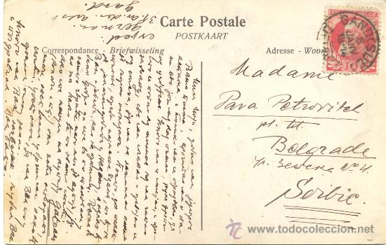 Postales: POST 363 - POSTAL SELLOS BÉLGICA - GAND : LE CHÁTEAU DE GERARD LE DIABLE - 1914 - 14589 GAND - Foto 2 - 24064089