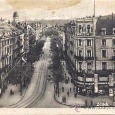 Postales: *POST 114 - POSTAL MATASELLOS 1924 - ZÜRICH . BAHNHOFSTRASSE . 1771 . Lote 22861638