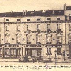 Postales: POST 128 - POSTAL NO CIRCULADA: HOTEL DE LA HAUTE MÉRE-DIEU - CHALONS -SUR MARNE - . Lote 15104835