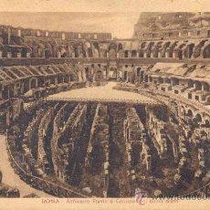 Postales: POST 122 - POSTAL NO CIRCULADA: ROMA - ANFITEATRO FLAVIO O COLOSSEO COU NUOVI SCAVI . E.G.D.V.. Lote 15105427