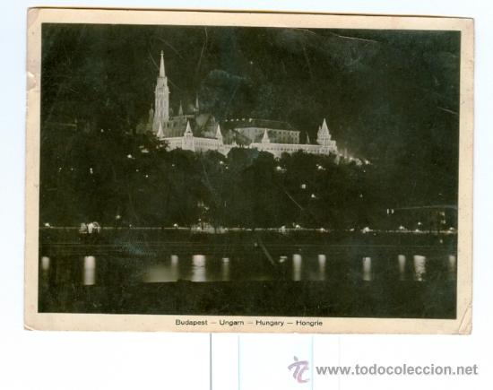 BUDAPEST (HUNGRÍA) - LE BASTION DES PECHEURS DE NUIT (Postales - Postales Extranjero - Europa)