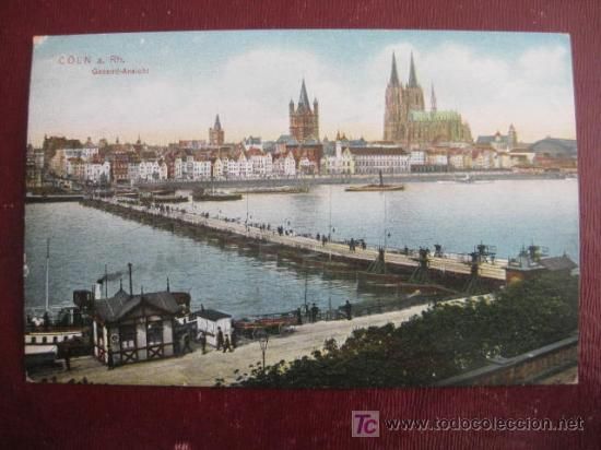 COLN A. RH. GESAMT-ANSICHT (Postales - Postales Extranjero - Europa)