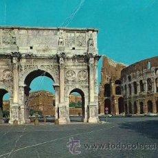Postales: ROMA (ITALIA) - ARCO DI COSTANTINO E COLOSSEO. Lote 15866184