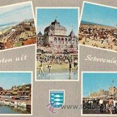 Postales: SCHEVENINGEN (HOLANDA) - DIVERSOS ASPECTOS. Lote 16054780