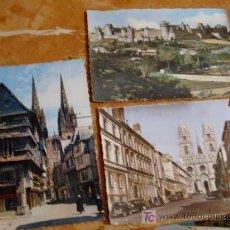 Postales: 3 POSTALES DE FRANCIA,AÑOS 60,CIRCULADAS.. Lote 16235225