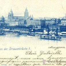 Postales: MAINZ. CIRCULADA EN 1899.. Lote 16307023