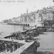 Postales: MENTON (FRANCIA) - LA VIEILLE VILLE. Lote 16426949