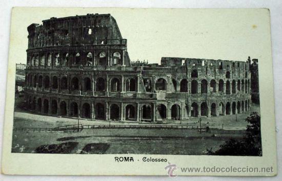 POSTAL ROMA COLOSSEO (Postales - Postales Extranjero - Europa)
