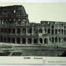 Postales: POSTAL ROMA COLOSSEO . Lote 16559821