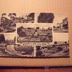 Postales: POSTAL INGLESA DE WESTCLIFF ON SEA. CIRCULADA. EDICIONES VALENTINE´S P-1461. Lote 16794418