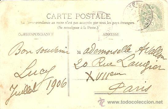 Postales: LUXEUIL - LES BINS - LES ALLÉES DU PARC DE L´ETABLISSEMENT THERMAL - CIRCULADA PRINCIPOS S.XX - Foto 2 - 16869710