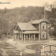 Postales: ALUNDA MUNKEDAL - POSTAL CIRCULADA PRINCIPIOS SIGLO XX. Lote 16870131