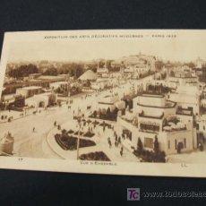 Postales: EXPOSITION DES ARTS DECORATIFS MODERNES - PARIS 1925 - VUE D'ENSEMBLE -. Lote 23679451