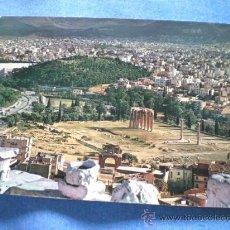 Postales: POSTAL GRECIA ATENAS VISTA PARCIAL 1964 CIRCULADA. Lote 17052215