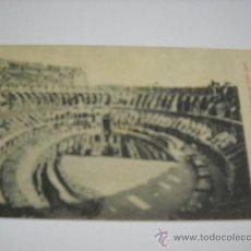Postales: 394 ROMA - ANFITEATRO FLAVIO E COLOSSEO COI NUEVI SCAVI. ANTERIOR A 1910. SIN CIRCULAR. Lote 17094781