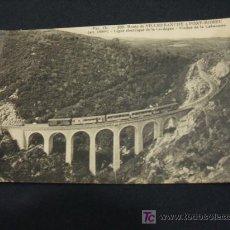 Postales: TARJETA POSTAL ANTIGUA - ROUTE DE VILLEFRANCHE & FONT-ROMEU. Lote 18365644