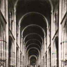 Postales: TOULOUSE (LA VILLE ROSE) - BASILIQUE ST-SERVIN. VAISSEAU CENTRAL DE LA NEF. Lote 17180154