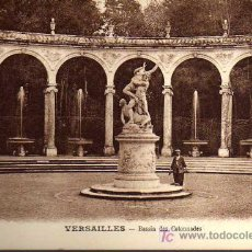 Postales: POSTAL ANTIGUA - VERSAILLES - BASSIN DES COLONNADES. Lote 17216291