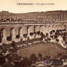 Postales: POSTAL ANTIGUA - VERSAILLES - L'ORANGERIE ET LES PALAIS. Lote 17216347