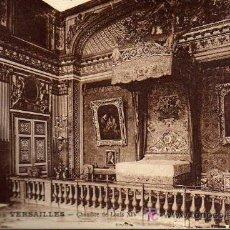 Postales: POSTAL ANTIGUA - PALAIS DE VERSAILLES - CHAMBRE DE LOUIS XIV. Lote 17216399