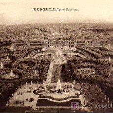 Postales: POSTAL ANTIGUA - VERSAILLES - PANORAMA. Lote 17217037