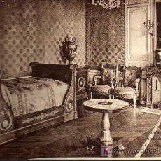 Postales: POSTAL ANTIGUA - VERSAILLES - PALAIS DU GRAN TRIANON - CHAMBRE DE NAPOLEON 1º. Lote 17217132