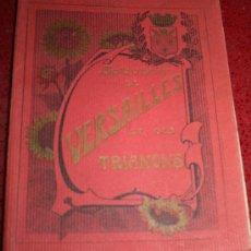 Postales: LIBRO CON 16 POSTALES ANTIGUAS DE VERSALLES - SOUVENIR DE VERSAILLES ET DES TRIANONS - 19 X 15 CM.. Lote 23908605