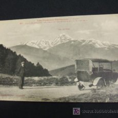 Postales: POSTAL ANTIGUA - VALLEE D'AURE - LES PYRENEES CENTRALES - PLATEAU DU COL D'ASPIN. Lote 17375477