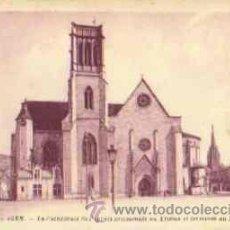 Postales: AGEN (FRANCIA) - LA CATHEDRALE ST-CAPRAIS . Lote 17449795