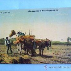 Postales: LISBOA , PORTUGAL , COSTUMES PORTUGUEZES , VER FOTO INFORMATIVA. Lote 17643497