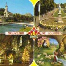 Postales: LOURDES (FRANCIA) -.DIVERSOS ASPECTOS. Lote 17749510