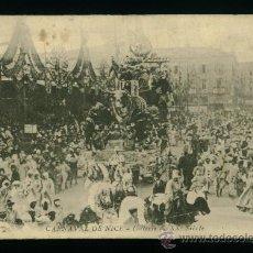 Postales: CARNAVAL DE NIZA - NICE - XXXVIII - CIRCULADA 1909. Lote 18388027