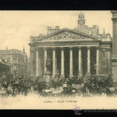 Postales: LONDRES - LONDON - ROYAL EXCHANGE - SÍN CIRCULAR. Lote 18394219